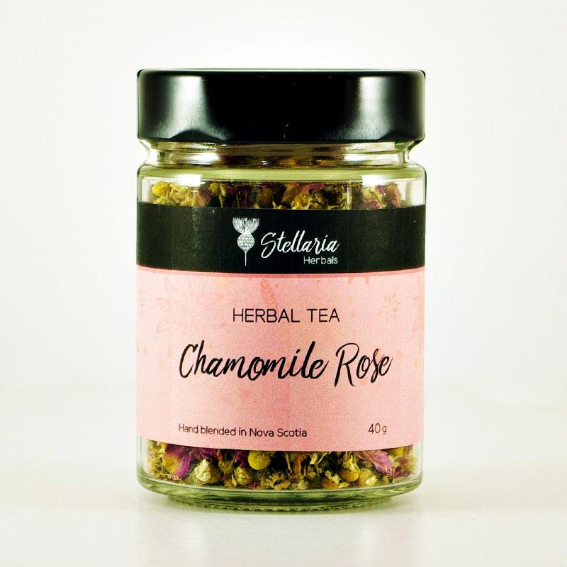 Chamomile Rose Tea Stellaria Herbals